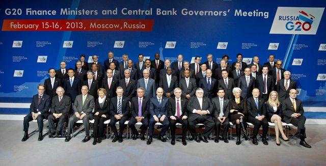 Réunion du G20 à Moscou