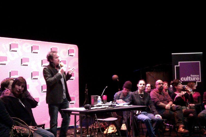 Thomas Baumgartner et les classes d'électroacoustique des conservatoires de Brest et Pantin, au festival Longueur d'Ondes