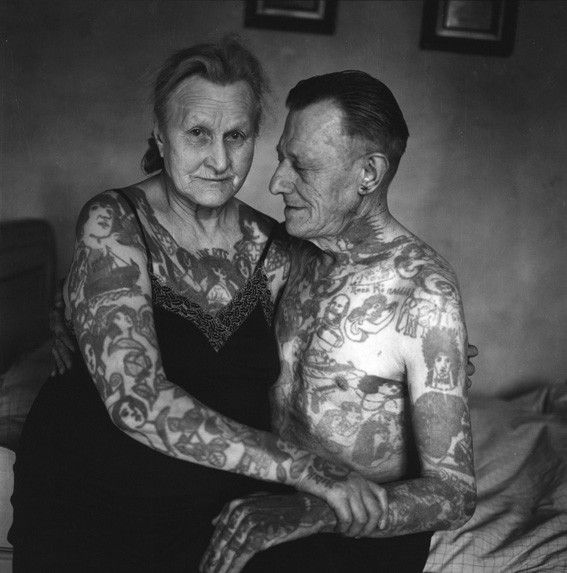 Tattooed couple, 2011