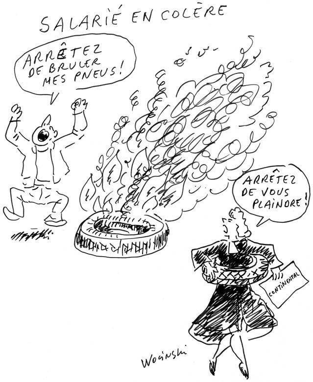 "Les anciens ""Conti"" devant les prud'hommes"