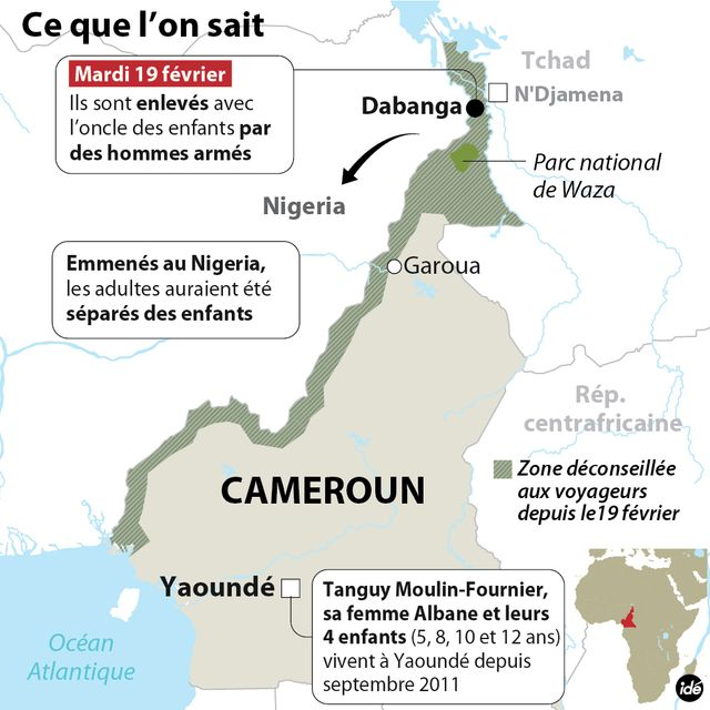 Cameroun, ce que l'on sait