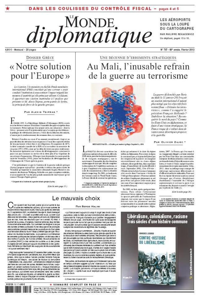Le Monde Diplomatique - février 2013