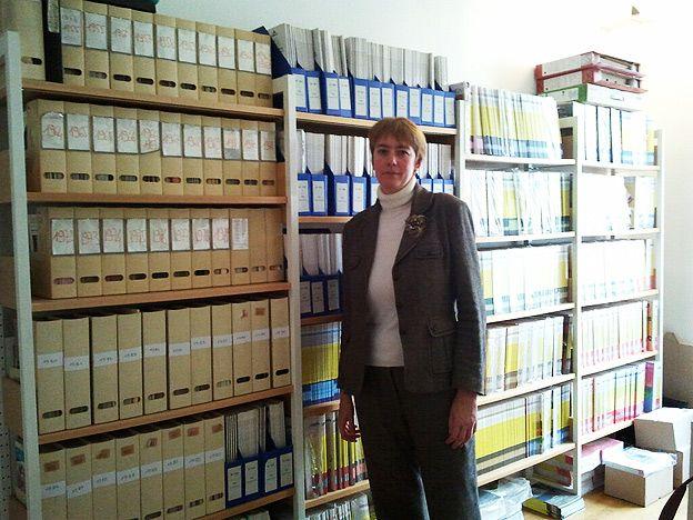 Anne Verneuil, présidente de l'Association des Bibliothécaires de France