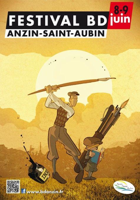 Festival BD d'Anzin-Saint-Aubin (communauté urbaine d'Arras)
