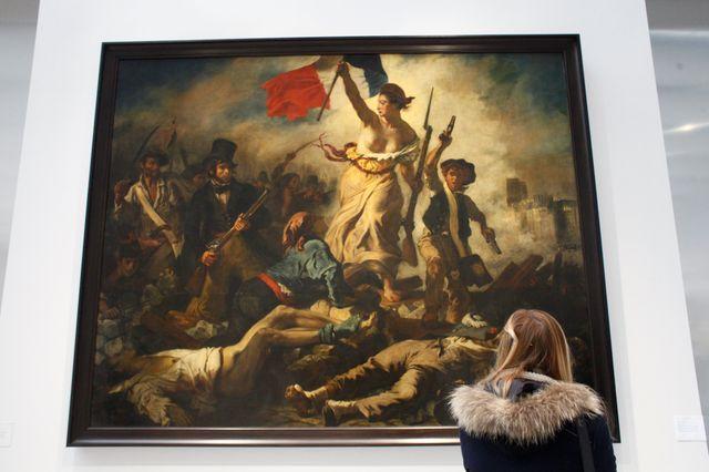 La liberté guidant le peuple, delacroix