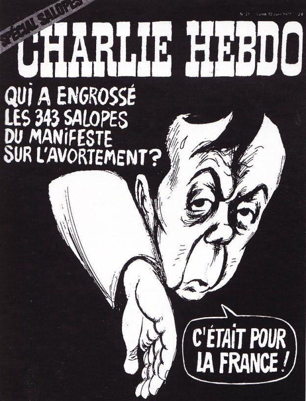 Couverture Charlie Hebdo