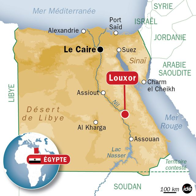 Égypte: 19 morts dans l'explosion d'une montgolfière