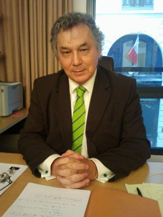 Marcel Rogemont, député socialiste d'Ille-et-Vilaine