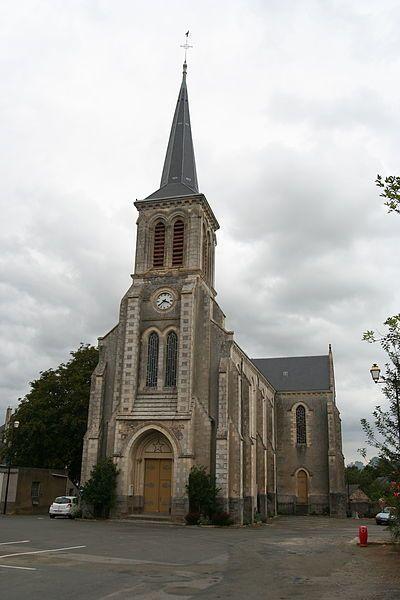 Église Saint-Médard de Soulgé-sur-Ouette