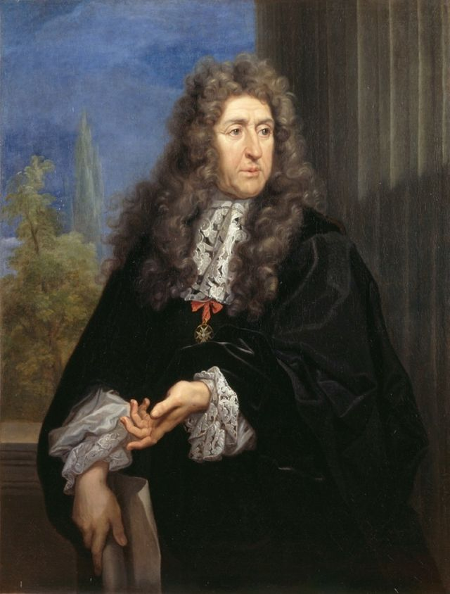 Portrait d'André Le Nôtre par Carlo Maratta - 1680