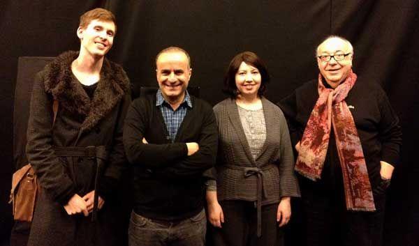 Le RDV : Jean-Laurent Cochet, Ilan Duran-Cohen, Cornelia Oncioiu et Philip Richardson