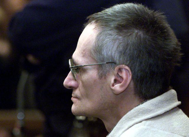 Francis Heaulme lors d'un précédent procès pour meurtre en 2001