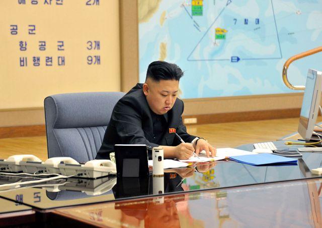 Kim Jong-un, le leader nord coréen,