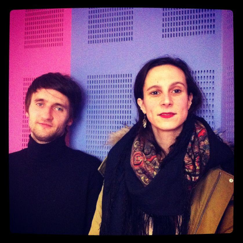 Jeanne Candel et Florent Hubert