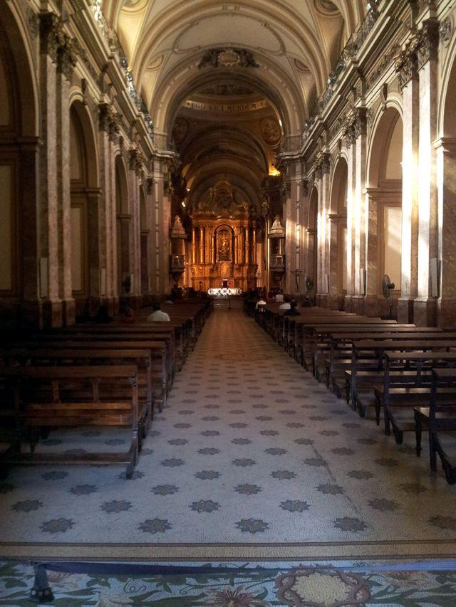 La cathédrale de Buenos Aires