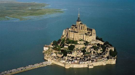 Le Mont Saint Michel est classé au patrimoine mondial de l'Unesco