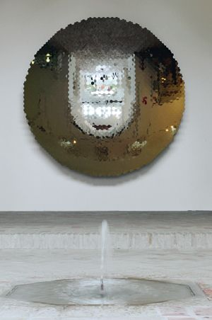 Anish Kapoor Islamic Mirror 2008 Acier inoxydable