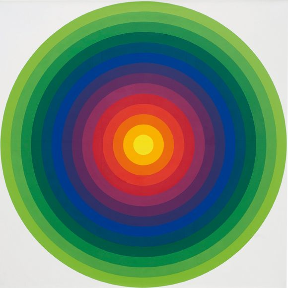 Julio Le Parc Surface couleur - série 14-2E 1971 - Collection particulière