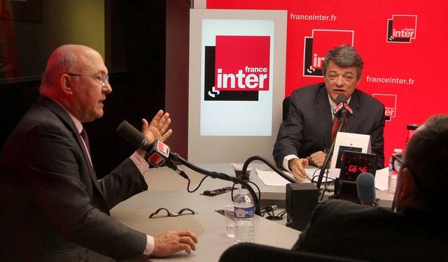 Michel Sapin et Jean-Louis Borloo