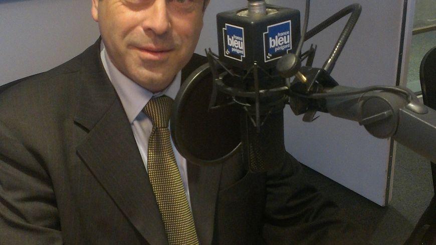 Philippe Cornet, conseiller régional UMP et leader de l'opposition à la mairie de Périgueux
