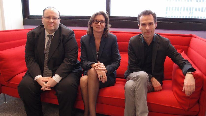 Christian Parisot, Jézabel Couppey-Soubeyran et Alexandre Delaigue