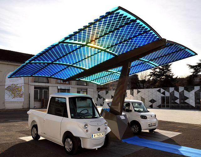 L'ombrière photovoltaïque SUDI