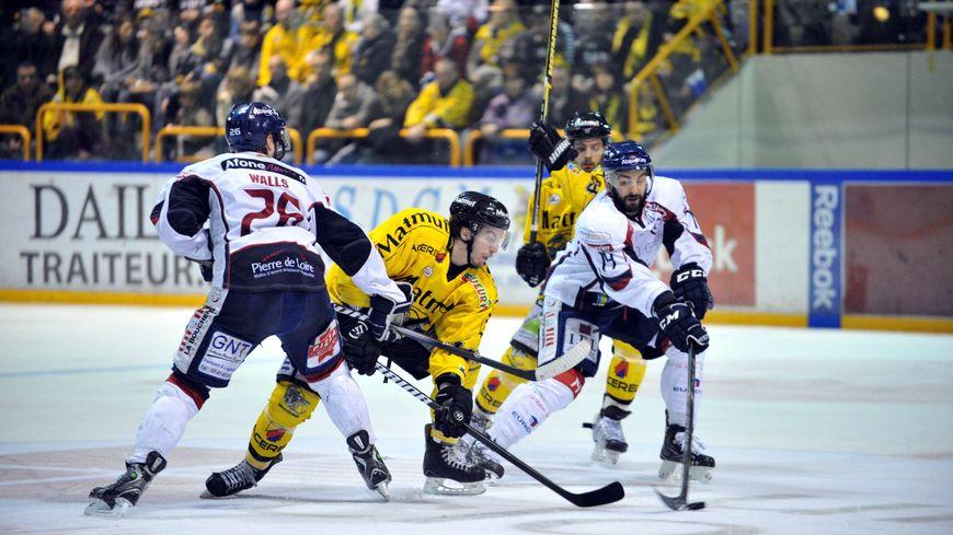 hockey sur glace Rouen Angers 4ème manche 30 mars 2013