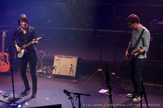 La Féline  avec Agnès Gayraud : Voix, Guitare et Sébastien Dousson : Basse
