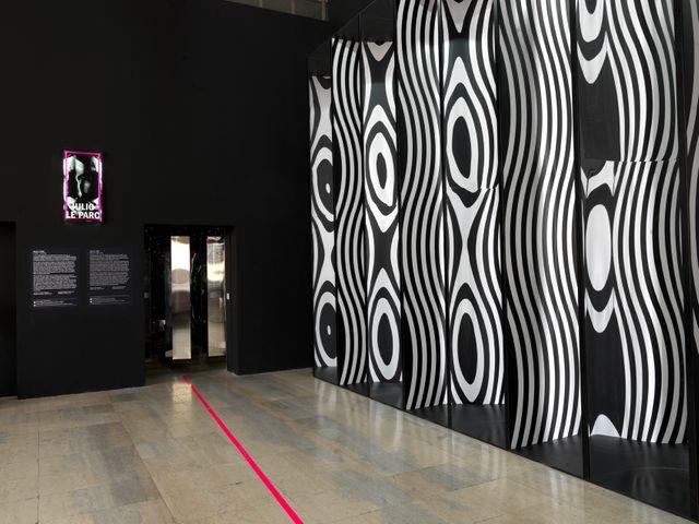 Julio Le Parc, entrée de l'exposition au Palais de Tokyo