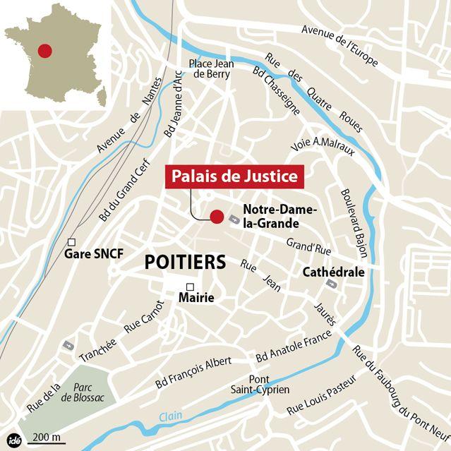 L'évadé de Poitiers toujours recherché