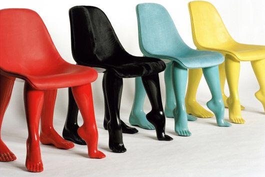 Chaises dessinées par Pharrell Williams