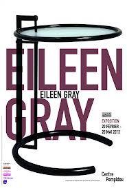 Exposition Eileen Gray au Centre Pompidou 2013