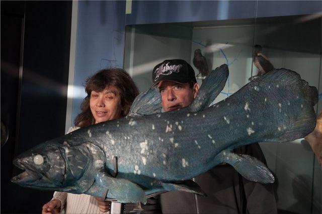 Isabelle Cirla, Joël Trolonge et le coelacanthe