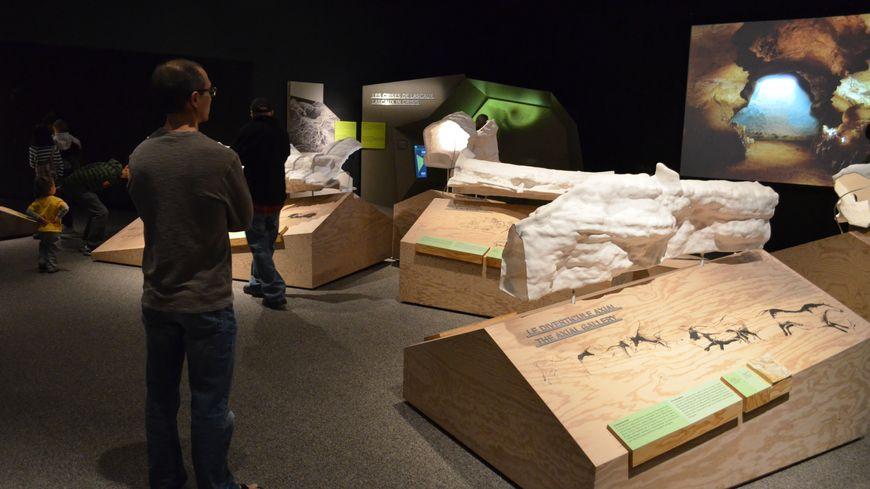 L'exposition Lascaux 3 lorsqu'elle était encore exposée à Chicago