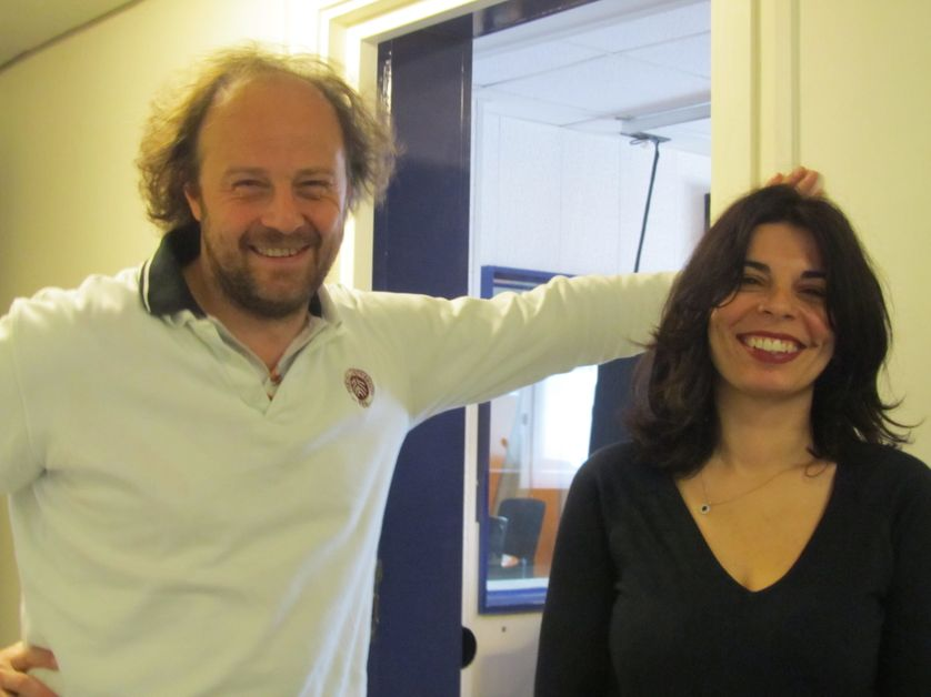 De gauche à droite : Ange Ansour et François Taddei