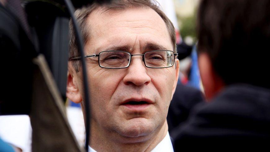 Pierre Morel à L'Huissier, le député de Lozère