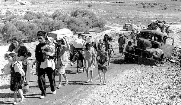 Réfugiés palestiniens en 1948