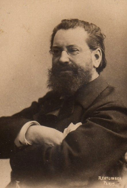 Edouard Drumont photographié par Charles Reutlinger (collection Félix Potin)