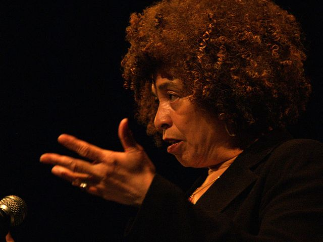 Angela Davis, University of Alberta, 2006