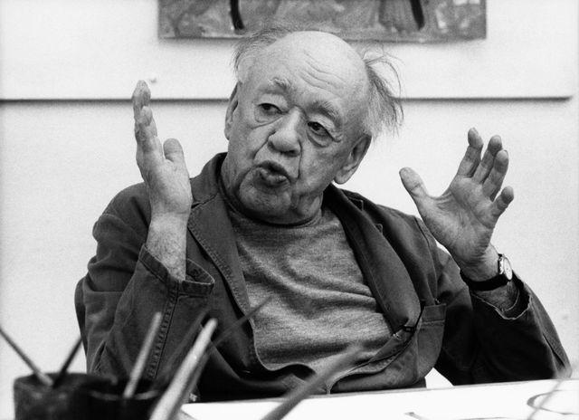 Eugène Ionesco en 1987