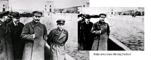 Staline et Nikolaï Iejov