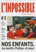 L'Impossible, l'Autre Journal - n°11- direction  Michel Butel - éd. L'Impossible
