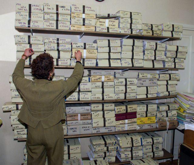 Le bureau de Marie-Odile Bertella-Geffroy