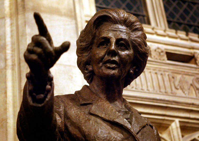 Margaret Thatcher - statue