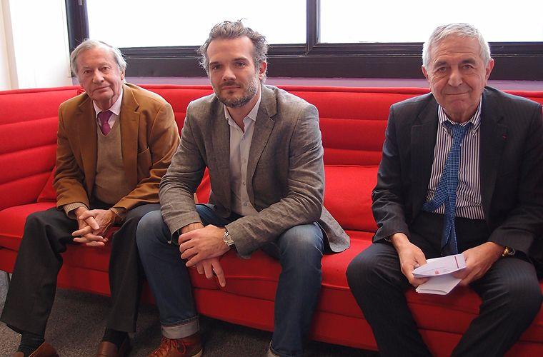 Jean-Marie Chevalier, Matthieu Auzanneau et Jean-Louis Schilansky