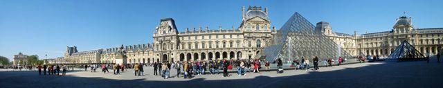 Panorama du Musée du Louvre