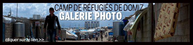 Lien image galerie photo camp de réfugiés