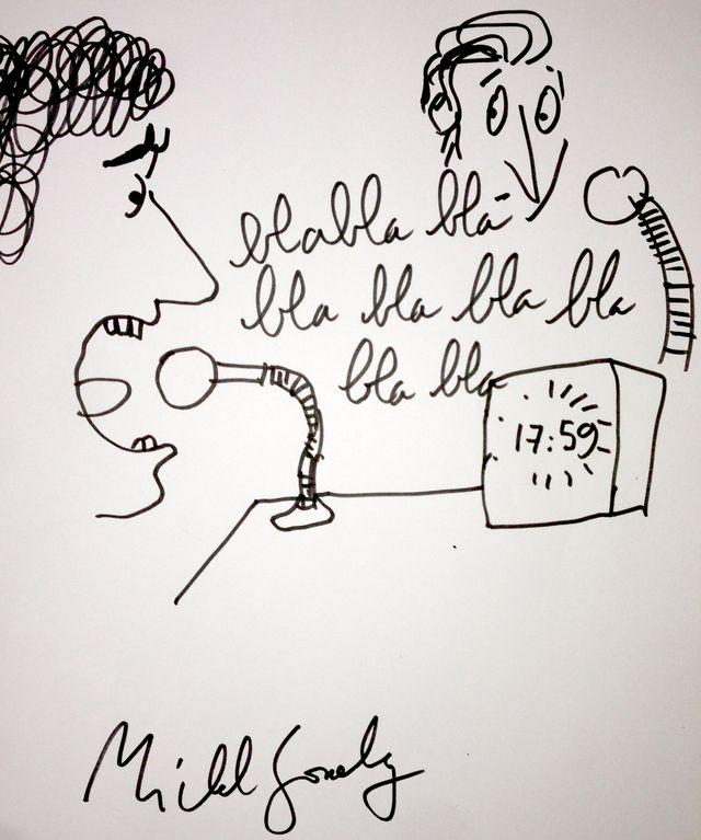 dessin Michel Gondry