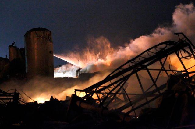 Explosion dans une usine d'engrais au Texas