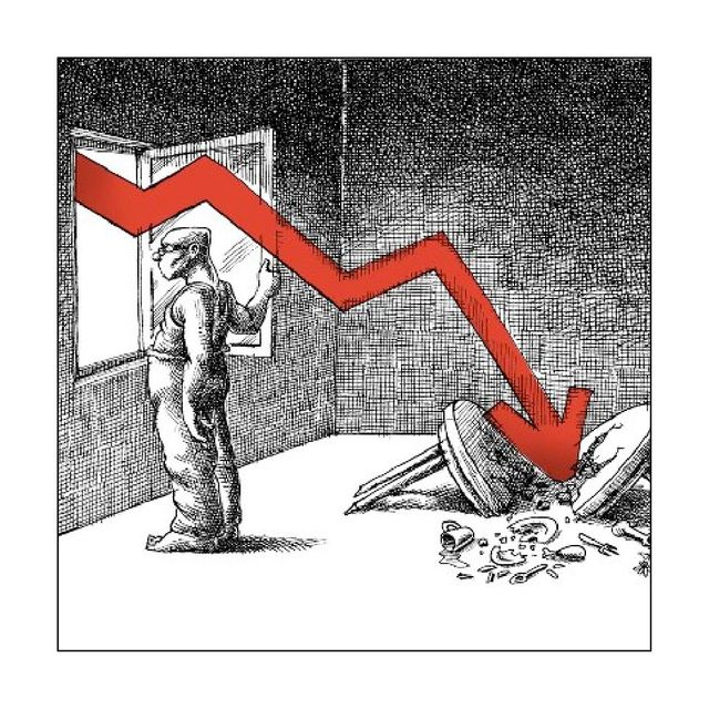 """""""La crise"""", Mana Neyestani. Extrait de """"Tout va bien!"""""""
